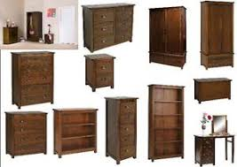 bedroom furniture bedside cabinets boston dark wood bedroom furniture bedside table chest of drawers ebay