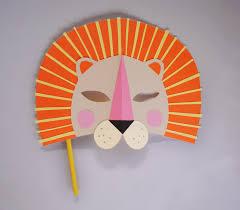 lion mask for kids diy paper lion mask for national geo kids mer mag