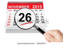 day thanksgiving calendar date stock images royalty free images