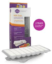 Breastmilk Freezer Storage Container Breast Milk Storage Milk Trays For Nursing Moms