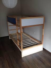 Ikea Tuffing Bunk Bed Hack Bunk Bed Ikea Kura Double Bunk Bed Extra Hidden Bed Sleeps 3 Ikea