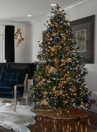 Blue And Gold Home Decor 1485 Best Christmas Trees And Holiday Decorating Images On