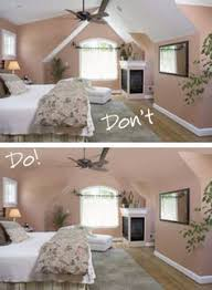 keep walls u0026 ceilings uniform to create the illusion of more