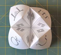 how to make a paper fortune teller and basil pesto byopia press