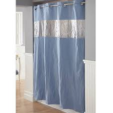 Shower Curtain At Walmart - hookless vision blue peva shower curtain walmart com