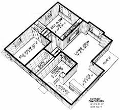 two bedroom homes blueprint of house with 2 bedrooms home deco plans