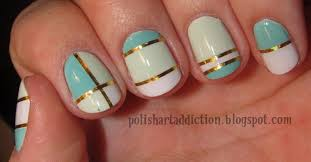 nail foil tape designs images
