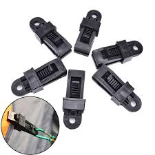 Awning Clamps 6pcs Sets Awning Wind Clamp Awnings Outdoor Camping Plastic