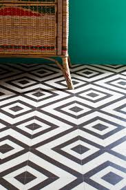 cheap black and white vinyl floor tiles decoration
