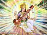 Wallpapers Backgrounds - Wallpapers Saraswati Maa 1024x768