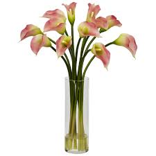 artificial flower arrangements nearly 1187 cr mini calla silk flower