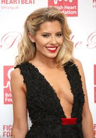 wedding hair updo for older ladies mollie king sizzles in very low cut black dress at charity