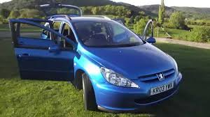 peugeot diesel estate cars for sale 2003 peugeot 307 s estate for sale at bransford garage youtube