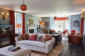 house style blue country house style living room design ideas