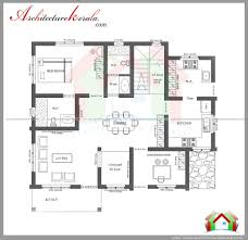 2 Bhk Home Design Layout by House Plan Kerala 3 Bedroom House Plans Pdf Memsaheb Net 2