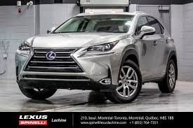 used lexus nx for sale canada used 2017 lexus nx 300h hybride awd cuir toit gps for sale in