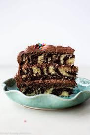 photo cake zebra layer cake sallys baking addiction