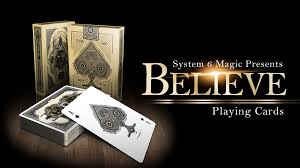 believe cards by uspcc and system 6 magic by michael