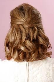 Hochsteckfrisurenen Mittellange Haar Braut by Die Besten 25 Halbe Hochsteckfrisuren Ideen Auf