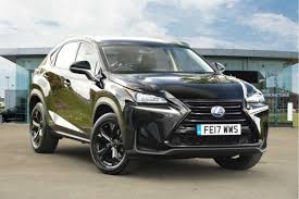 new lexus glasgow used 2017 lexus nx 300h 2 5 sport 5dr cvt for sale in derbyshire