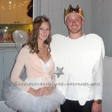 hilarious homemade halloween costume ideas coolest tooth and tooth fairy homemade couples costume homemade