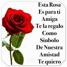 imagenes bonitas para una amiga frases para tu muro esta rosa es para ti amistad pinterest