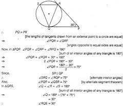 Interior Angles In A Circle Ncert Exemplar Problems Class 10 Maths Circles Cbse Tuts