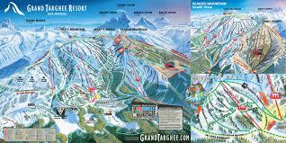 World Map Winter by Grand Targhee Winter Trail Map Grand Targhee Resort