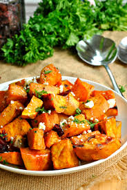 sweet potato thanksgiving side dish roasted sweet potatoes with feta u2013 go eat and repeat