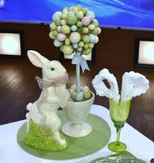 Easter Table Decorations Religious by Awesome Easter Centerpiece In Dining Room Deco Combine Delightful