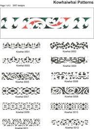 symbols listed by maori arts pinteres