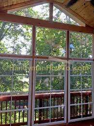 screen porch window framing with kreg pocket hole jig
