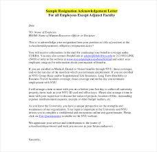 19 resign letter format templates free pdf doc format download