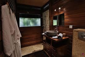Bathroom In French by Villa Varua Dream Seasonal Rental Moorea