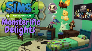 the sims 4 kids room stuff monsterific delights speed build