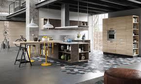 cuisine loft cuisine loft bois et