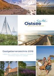 Preiswerte Landhausk Hen Ostseespitze Gastgeberverzeichnis 2018 By Bdrops Issuu