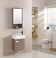 armadietto bagno con specchio arredo bagno mobile singolo mobile bagno pensile acero da 46 cm