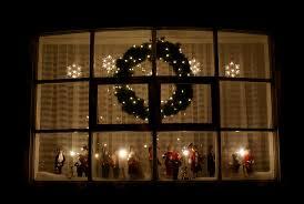 B Q Christmas Window Decorations by Christmas Window Lights Christmas Decor Ideas