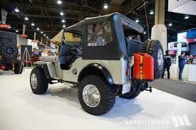 sema jeep for sale 2017 sema rancho willys flatfender