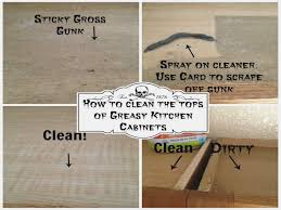 What To Use To Clean Greasy Kitchen Cabinets Clean Greasy Kitchen Cabinets Using Natural Products Youtube