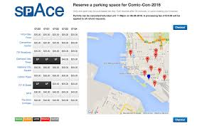 San Diego Convention Center Map by Guide To Parking At San Diego Comic Con 2016 Updated San Diego