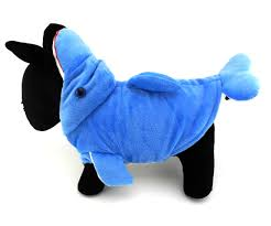 Dolphin Halloween Costume Pet Small Dog Cat Clothes Apparel Warm Fleece Dolphin Costume