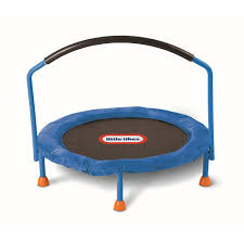 Little Tikes Toy Chest Little Tikes 3 U0027 Trampoline Blue Toys For Kids Yato Store
