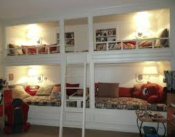 4 Bed Bunk Bed 4 Beds Built Into Wall Walls Decor