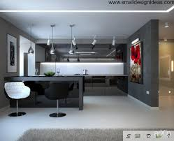 Kitchen And Living Room Design Ideas by Kitchen Studio And Dining Room Design All In One