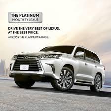 lexus cars price in dubai drive the very best of lexus at the best price across the platinum