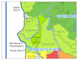 Chippewa National Forest Map Pomme De Terre River Watershed Minnesota Nutrient Data Portal