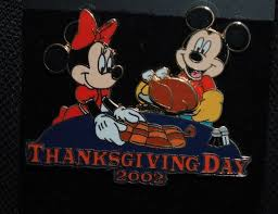 disney wdw thanksgiving day mickey mouse and minnie mouse 3d pin ebay