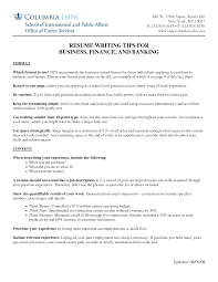 Job Seekers Resumes by Columbia Business Resume Format Free Resume Example And